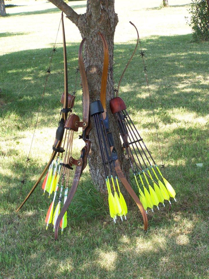Kustom King Traditional Archery custom bows, youth arrows, arrow ...